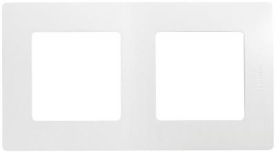 Legrand Etika Белый Рамка 2 поста купить в интернет-магазине Азбука Сантехники