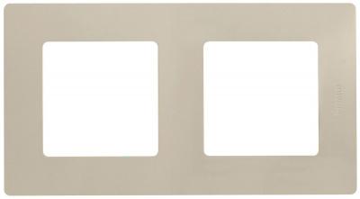 Legrand Etika Cлоновая кость Рамка 2 поста купить в интернет-магазине Азбука Сантехники