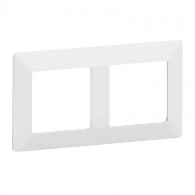Legrand Valena Life Белый Рамка 2 поста купить в интернет-магазине Азбука Сантехники