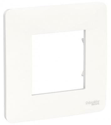 Schneider Electric Unica New Studio Mono Белый Рамка 1-постовая купить в интернет-магазине Азбука Сантехники