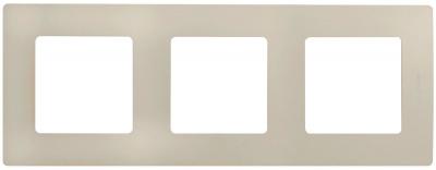 Legrand Etika Cлоновая кость Рамка 3 поста купить в интернет-магазине Азбука Сантехники