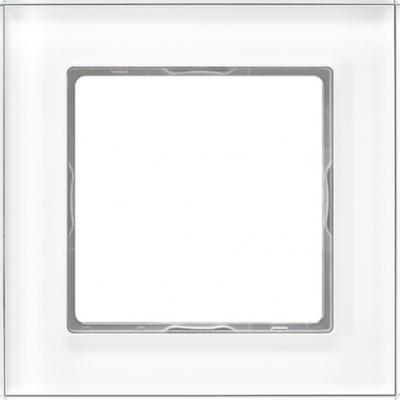 Jung A creation Стекло Белый Рамка 1-ая купить в интернет-магазине Азбука Сантехники