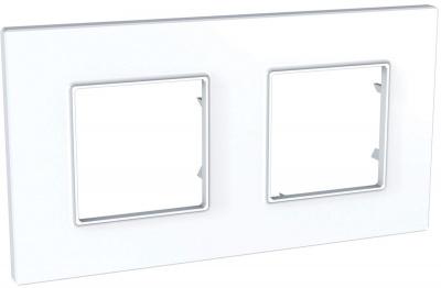 Schneider Electric Unica Quadro Белый Рамка 2-ая купить в интернет-магазине Азбука Сантехники