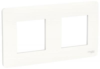 Schneider Electric Unica New Studio Mono Белый Рамка 2-постовая купить в интернет-магазине Азбука Сантехники