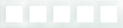 Legrand Etika Белый Рамка 5 постов купить в интернет-магазине Азбука Сантехники