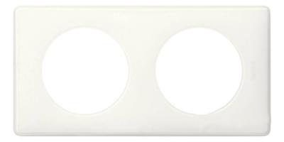 Legrand Celiane Слоновая кость глянец Рамка 2 поста / 2+2 мод купить в интернет-магазине Азбука Сантехники