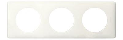 Legrand Celiane Слоновая кость глянец Рамка 3 поста / 2+2+2 мод купить в интернет-магазине Азбука Сантехники