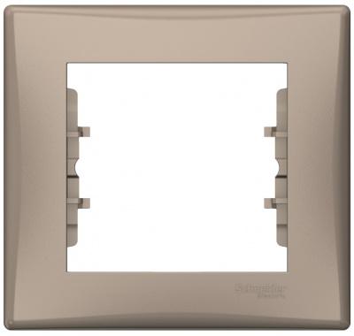 Schneider Electric Sedna Титан Рамка 1-постовая купить в интернет-магазине Азбука Сантехники