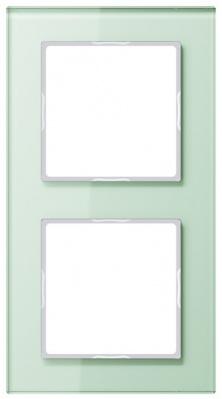 Jung A creation Стекло Матовый Рамка 2-постовая купить в интернет-магазине Азбука Сантехники