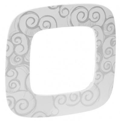 Legrand Valena Allure Нарцисс хром Рамка 1 пост купить в интернет-магазине Азбука Сантехники
