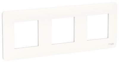 Schneider Electric Unica New Studio Mono Белый Рамка 3-постовая купить в интернет-магазине Азбука Сантехники