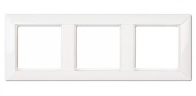 Jung EcoProfi Белый Рамка 3-постовая купить в интернет-магазине Азбука Сантехники