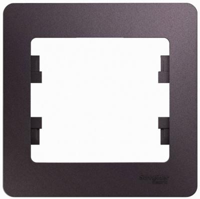 Schneider Electric Glossa Сиреневый туман Рамка 1-постовая купить в интернет-магазине Азбука Сантехники