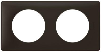 Legrand Celiane Черная перкаль Рамка 2 поста / 2+2 мод купить в интернет-магазине Азбука Сантехники