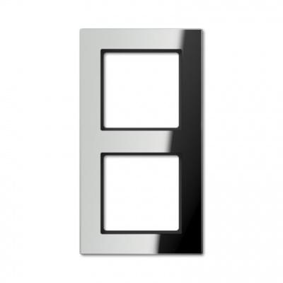Jung A creation Зеркало Серебро Рамка 2-постовая купить в интернет-магазине Азбука Сантехники