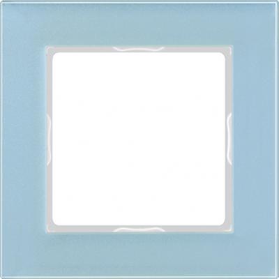 Jung A creation Стекло Серо-голубой Рамка 1-ая купить в интернет-магазине Азбука Сантехники