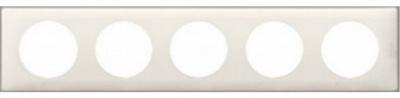 Legrand Celiane Белый глянец Рамка 5 постов / 2+2+2+2+2 мод купить в интернет-магазине Азбука Сантехники