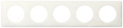 Legrand Celiane Слоновая кость глянец Рамка 5 постов / 2+2+2+2+2 мод купить в интернет-магазине Азбука Сантехники