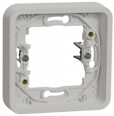 Schneider Electric Mureva Styl Белый Рамка 1-пост с винтами IP55 купить в интернет-магазине Азбука Сантехники