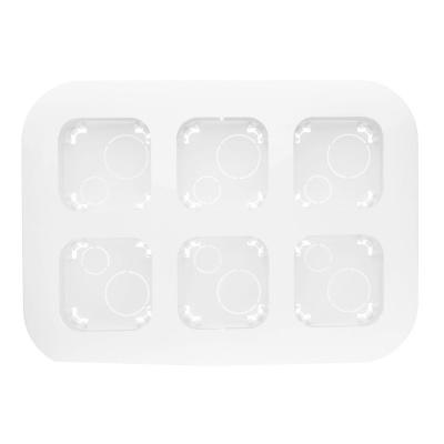 Legrand Quteo Белый Рамка накладного монтажа 6 постов IP20 купить в интернет-магазине Азбука Сантехники