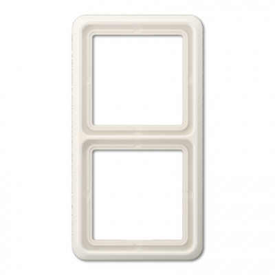 Jung CD 500 Слоновая кость Рамка 2-постовая купить в интернет-магазине Азбука Сантехники