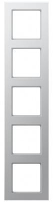 Jung A creation Алюминий Рамка 5-постовая купить в интернет-магазине Азбука Сантехники