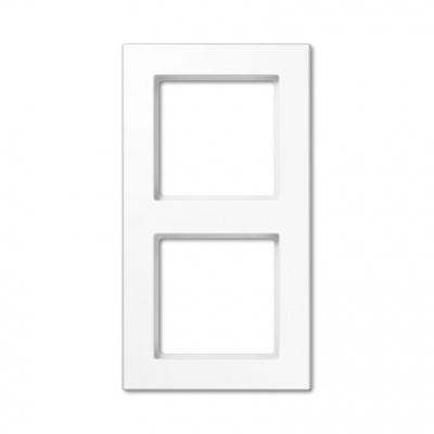 Jung A creation Белый Рамка 2-постовая купить в интернет-магазине Азбука Сантехники