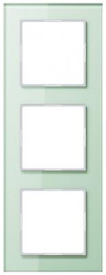 Jung A creation Стекло Матовый Рамка 3-постовая купить в интернет-магазине Азбука Сантехники