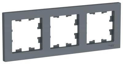 Schneider Electric AtlasDesign Грифель Рамка 3-постовая универсальная купить в интернет-магазине Азбука Сантехники