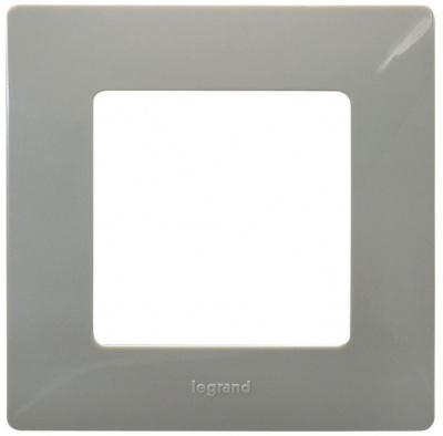 Legrand Etika Светлая галька Рамка 1 пост купить в интернет-магазине Азбука Сантехники