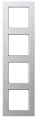 Jung A creation Алюминий Рамка 4-постовая купить в интернет-магазине Азбука Сантехники