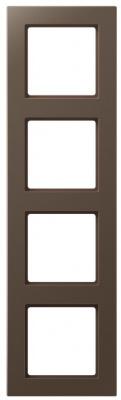 Jung A creation Мокко Рамка 4-постовая купить в интернет-магазине Азбука Сантехники