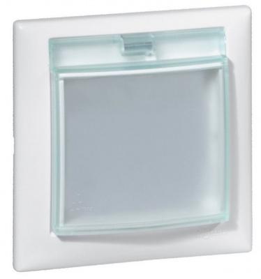 Legrand Valena Белый Рамка 1-ая с крышкой IP44 купить в интернет-магазине Азбука Сантехники
