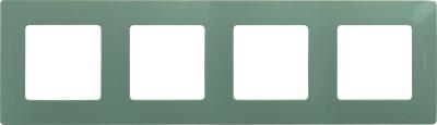 Legrand Etika Светлая галька Рамка 4 поста купить в интернет-магазине Азбука Сантехники
