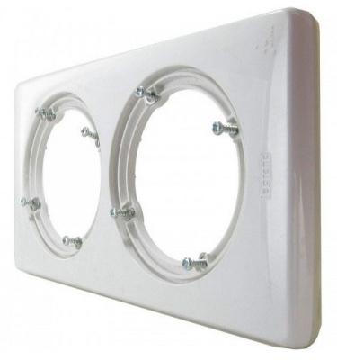 Legrand Celiane Белый Рамка 2 поста / 2+2 мод IP44 купить в интернет-магазине Азбука Сантехники