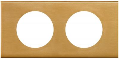 Legrand Celiane Золото Рамка 2 поста / 2+2 мод купить в интернет-магазине Азбука Сантехники