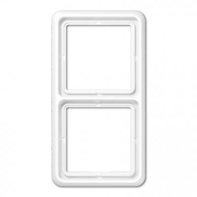 Jung CD 500 Белый Рамка 2-постовая купить в интернет-магазине Азбука Сантехники