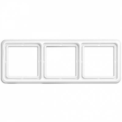 Jung CD 500 Белый Рамка 3-постовая купить в интернет-магазине Азбука Сантехники