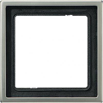 Jung LS 990 Алюминий Рамка 1-ая купить в интернет-магазине Азбука Сантехники
