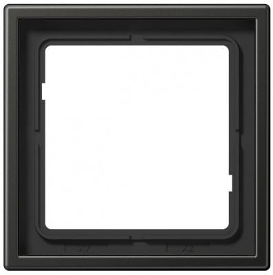 Jung LS 990 Антрацит Рамка 1-ая купить в интернет-магазине Азбука Сантехники