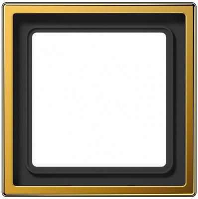 Jung LS 990 Золото Рамка 1-ая купить в интернет-магазине Азбука Сантехники