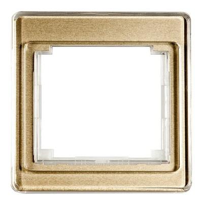 Jung SL 500 Бронза Рамка 1-ая купить в интернет-магазине Азбука Сантехники