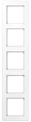 Jung A creation Белый Рамка 5-постовая купить в интернет-магазине Азбука Сантехники