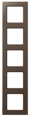 Jung A creation Мокко Рамка 5-постовая купить в интернет-магазине Азбука Сантехники