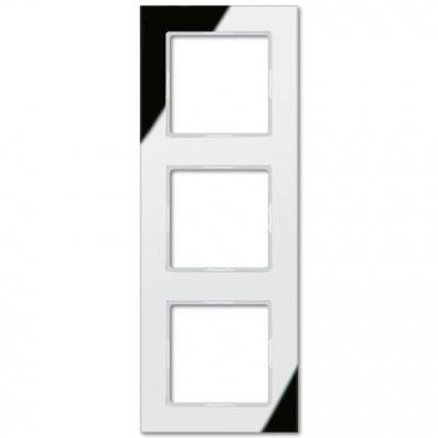 Jung A creation Зеркало Серебро Рамка 3-постовая купить в интернет-магазине Азбука Сантехники