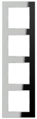 Jung A creation Зеркало Серебро Рамка 4-постовая купить в интернет-магазине Азбука Сантехники