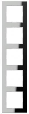 Jung A creation Зеркало Серебро Рамка 5-постовая купить в интернет-магазине Азбука Сантехники
