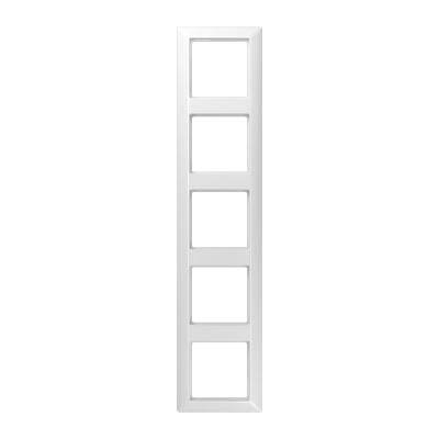 Jung AS 500 Белый Рамка 5-постовая купить в интернет-магазине Азбука Сантехники