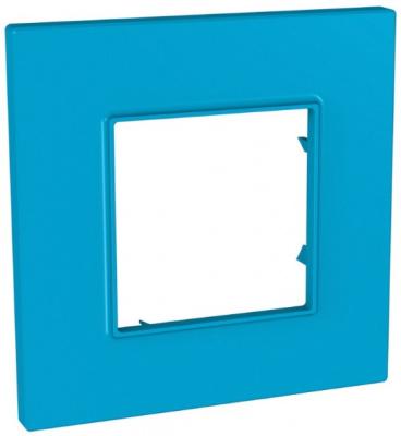 Schneider Electric Unica Quadro Natura Aqua/ Голубика Рамка 1-ая купить в интернет-магазине Азбука Сантехники