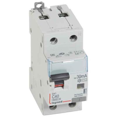Legrand DX3 Дифавтомат 1P+N 40A (C) 6kA тип AС 30mA купить в интернет-магазине Азбука Сантехники